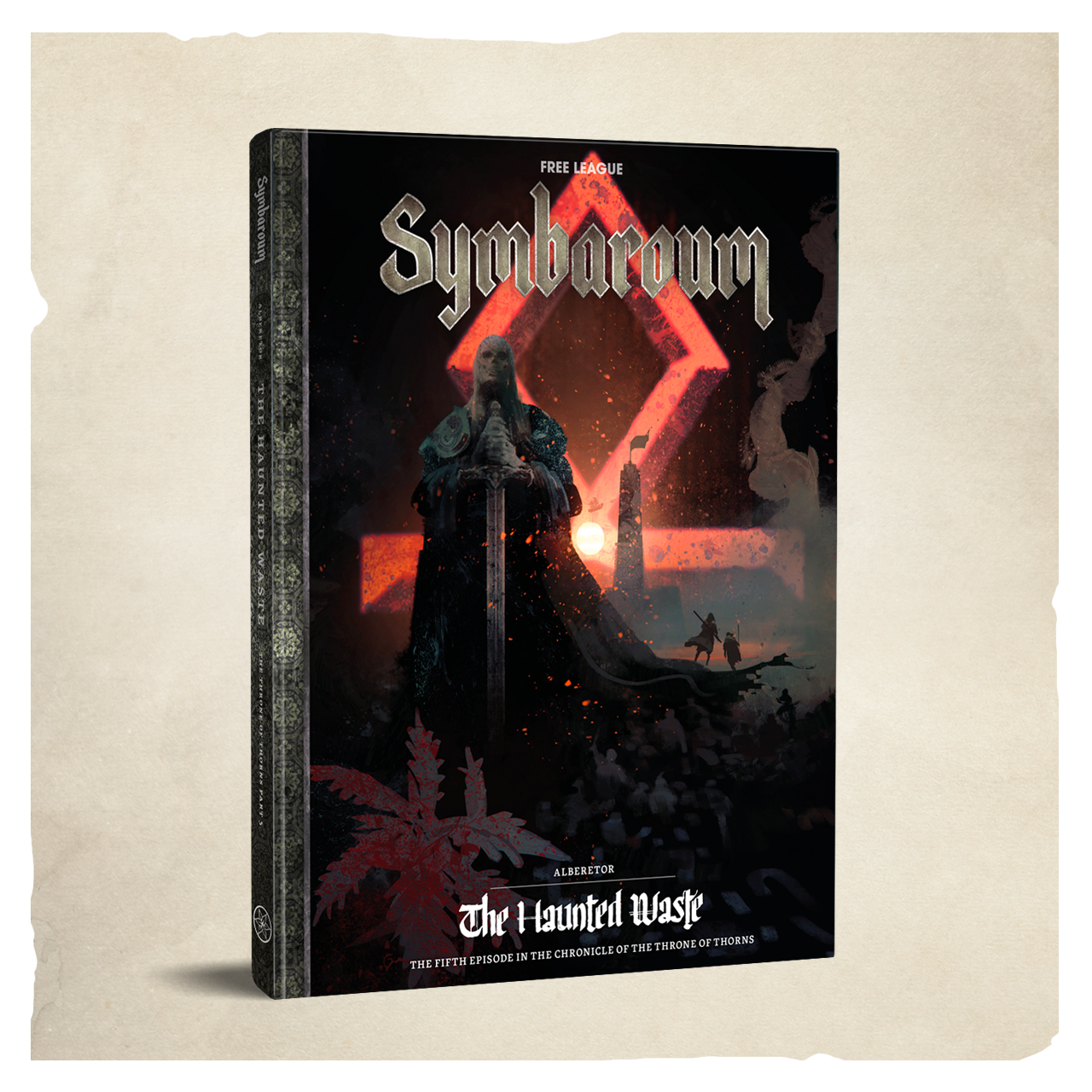 Cover di Alberetor – The Haunted Waste per Symbaroum